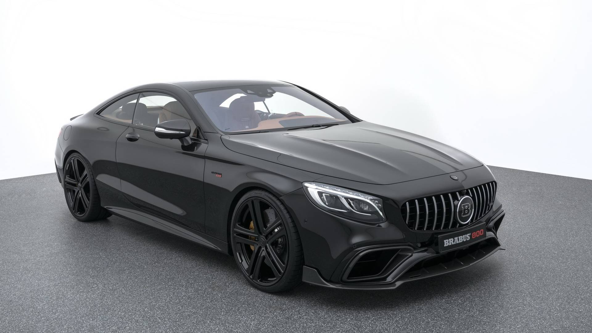 2018 Brabus 800 Coupe Based On The Mercedes Amg S63 Coupe